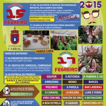 ENTROIDO 2015 ORGANIZADO POLAS ASOCIACIÓNS