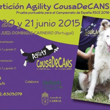 """I CAMPIONATO DE AGILITY """"COUSADECANS"""""""