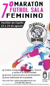 Cartel Fútbol Sala Femenino