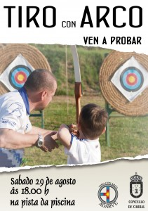 Cartel tiro con arco 2