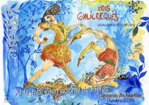 Cartel Galicreques As Mariñas 2015