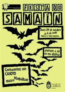 Cartel Samaín 2015 cor