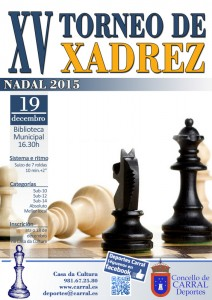 Cartel Xadrez