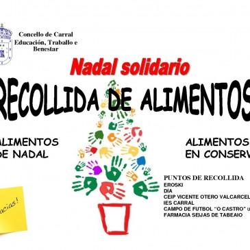 RECOLLIDA DE ALIMENTOS-NADAL SOLIDARIO
