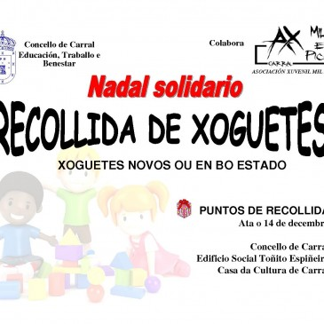 RECOLLIDA DE XOGUETES ATA 14 DE DECEMBRO