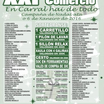XXI CAMPAÑA DE COMERCIO DE CARRAL