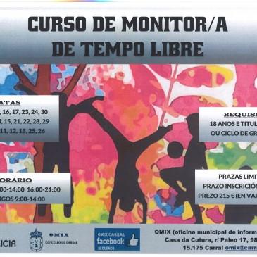 CURSO MONITOR/A DE TEMPO LIBRE ORGANIZADO POLA OMIX