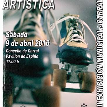 CARRAL PREPARA A XVII EXHIBICIÓN  MUNICIPAL DE PATINAXE ARTÍSTICA