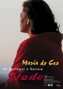 Cartel 34x48 cm [mar] - De Portugal a Galicia, Fado 2web