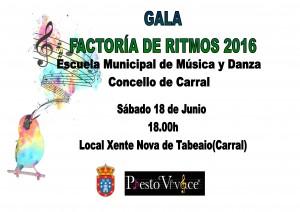 cARTEL2 FACTORIA DE RITMOS 2016