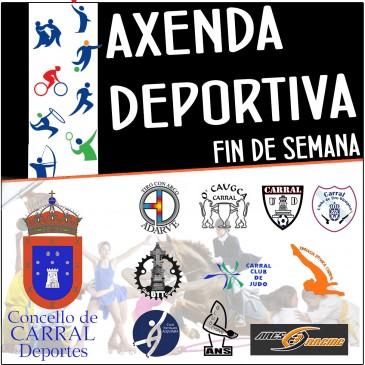 AXENDA DEPORTIVA PARA A FIN DE SEMANA
