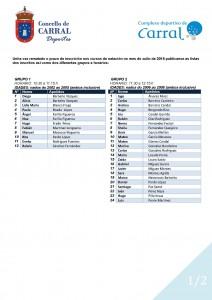 Publicación dos listados natación. Xullo_Página_1