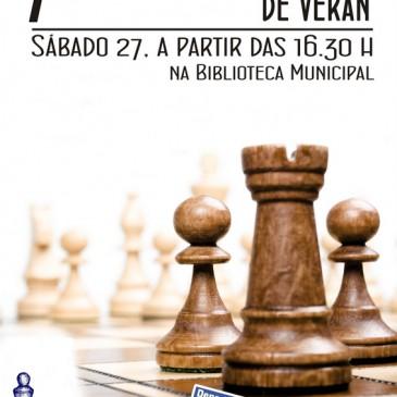 O VII TORNEO DE VERÁN DE XADREZ DE CARRAL CELEBRARASE O 27 DE AGOSTO