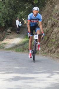 Gañador  4ª CronoEscalada. Fernando Díaz
