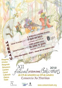 Cartel web Galicreques Carral 2016.
