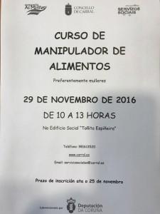 curso manipulador alimentos novembro 2016