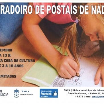 OBRADOIRO DE POSTAIS DE NADAL
