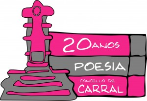 Logo 20 anos poesía Carral