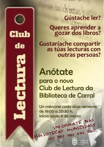 Cartel - Club de Lectura 2017.