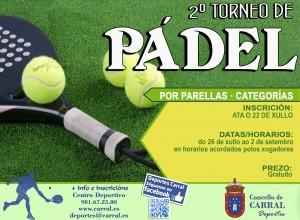 Cartel Torneo Pádel