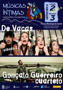 Cartel Músicas Íntimas Carral 2017