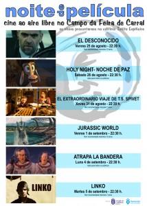Cartel Noites de Película 2017
