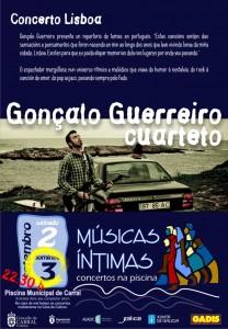Flyer Músicas Íntimas Carral 2017 - Gonçalo
