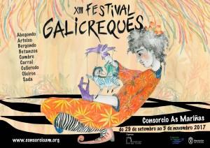 Cartel As Mariñas-Galicreques 2017-baixa