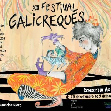 OS TÍTERES DO FESTIVAL GALICREQUES VOLVEN A CARRAL