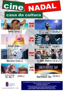Cartel 2017 Cine Nadal.