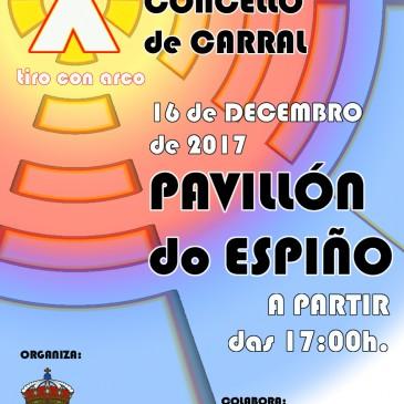 """O TORNEO DE TIRO CON ARCO """" CONCELLO DE CARRAL"""" CUMPRE 10 ANOS"""