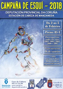 Cartel Campaña Esquí _18