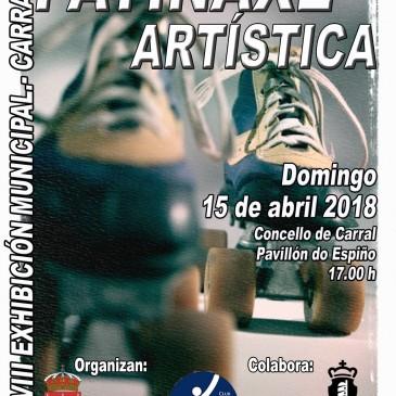 CARRAL CELEBRA A SÚA XVIII EXHIBICIÓN DE PATINAXE ARTÍSTICA