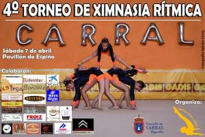 Cartel Torneo de Ximnasia Rítmica