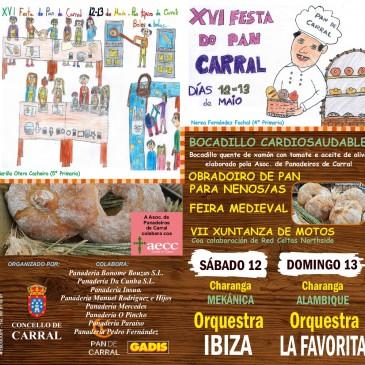12-13 MAIO XVI FESTA DO PAN DE CARRAL