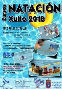 Curso Natación Xullo 2018