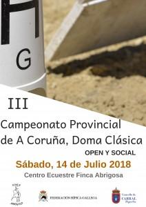 III CAMPEONATO PROVINCIAL DE A CORUÑA, DOMA CLÁSICA