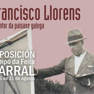 ROSARIO SARMIENTO FARÁ UNHA VISITA GUIADA POLA EXPOSICIÓN SOBRE FRANCISCO LLORENS