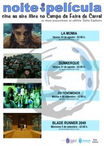 Cartel Noites de Película 2018 .