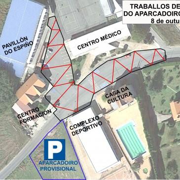 O aparcadoiro de Paleo permanecerá pechado o próximo luns 8 de outubro