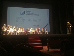 Presentación 1º premio Manuel María de proxectos teatrais - 2018 -2w