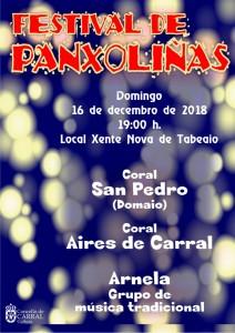 Cartel Panxoliñas 2018-w