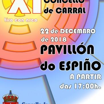 """O TORNEO DE TIRO CON ARCO """" CONCELLO DE CARRAL"""" CUMPRE 11 ANOS"""