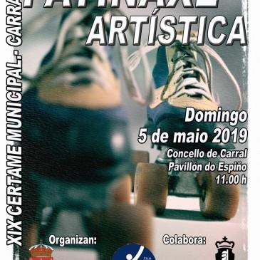 CARRAL CELEBRA A SÚA  XIX EXHIBICIÓN DE PATINAXE ARTÍSTICA