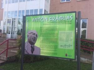 Panel na Casa da Cultura Antón Fraguas - res baixa