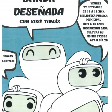 OBRADOIRO DE BANDA DESEÑADA IMPARTIDO POR XOSÉ TOMÁS