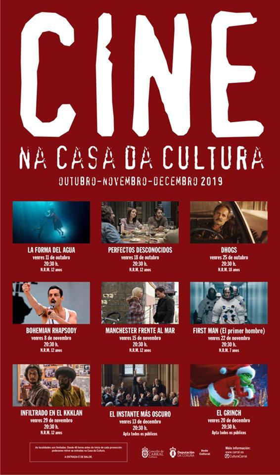 Ciclo de Cine Concello Carral
