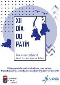 Cartel XII Día do Patín