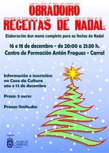 Cartel Cociña Nadal 2019.
