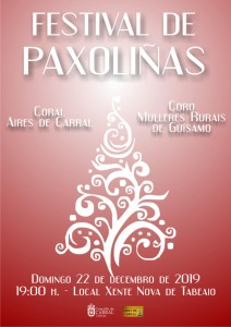 Cartel Panxoliñas 2019.